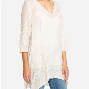 Antik lace flared tunic